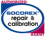 Autorizhed Socorex repair and calibration agent Colombia