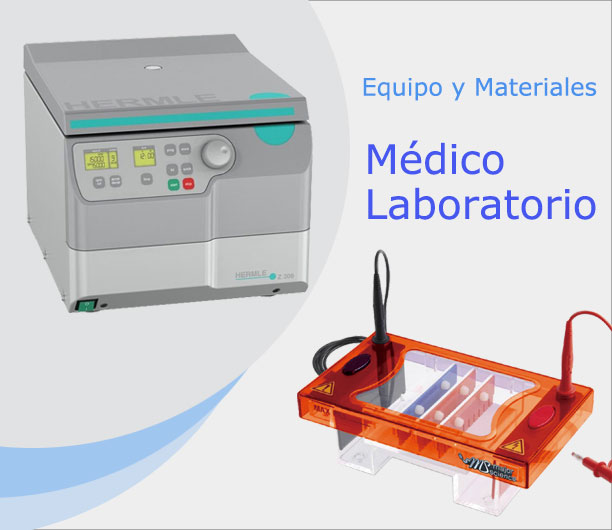 Equipo y Materiales Medico - Laboratorio